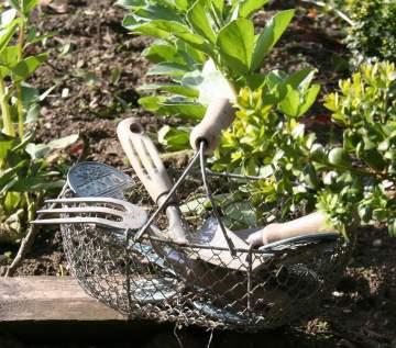 les outils au jardin !